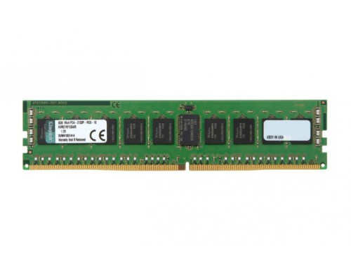 Модуль памяти KINGSTON 8GB PC17000 DDR4 REG ECC